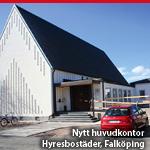 Nytt huvudkontor – Hyresbostäder, Falköping
