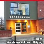 HUS 26<br>SKARABORGS SJUKHUS LIDKÖPING