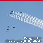 Passagesystem, Skaraborgs flygflottilj, Såtenäs