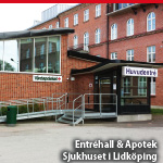 Entréhall & Apotek, <br>sjukhuset i Lidköping