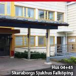 HUS, 04+45, <br>SKARABORGS SJUKHUS FALKÖPING